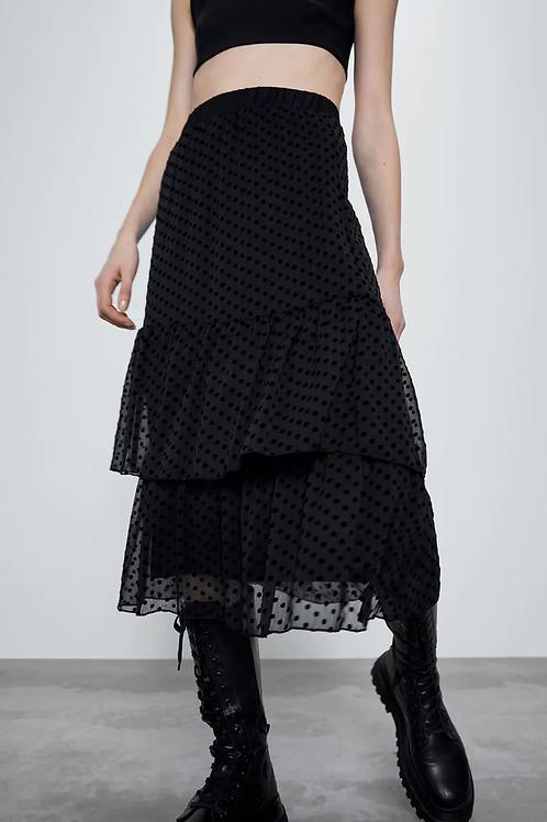 Esqualo / Skirt viscose stripe