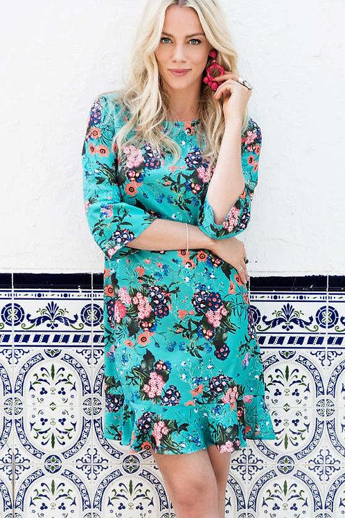 Esqualo / Dress multi flower