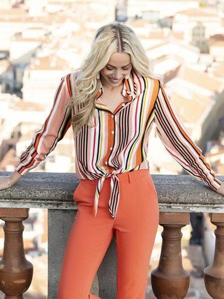 Esqualo / Blouse oversized stripe