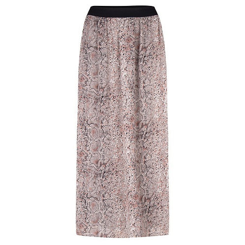 Esqualo / Skirt long snake print