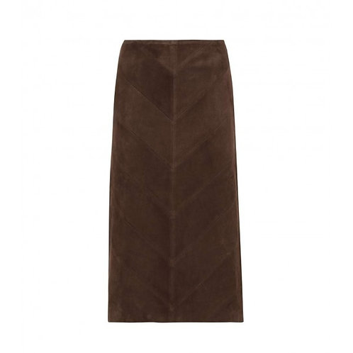 Esqualo / Skirt PU Suede