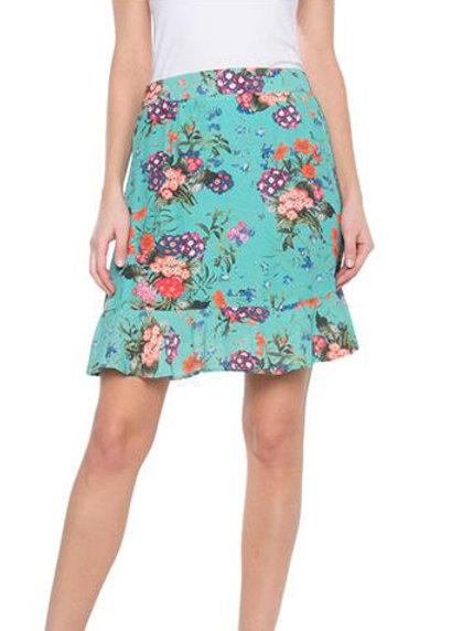 Esqualo / Skirt multi flower