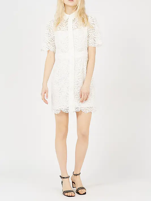 Esqualo / Bis Mixed Lace/Collar