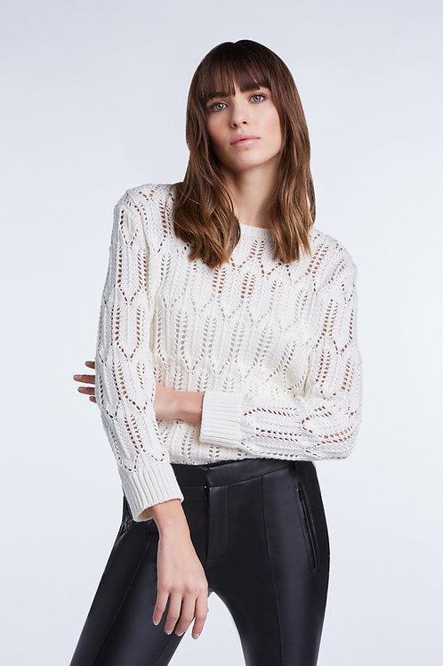 Esqualo / Swtr ajour knit