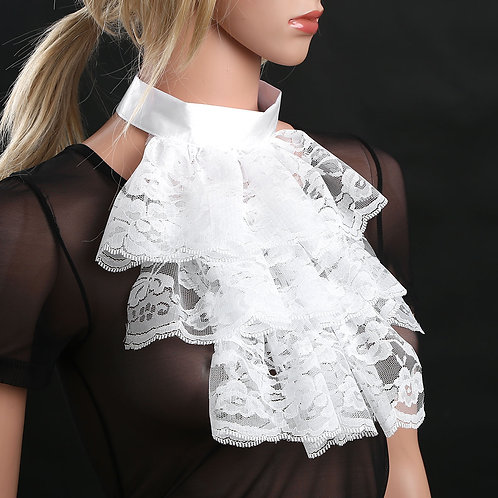 Esqualo / Dress Lace Jabot