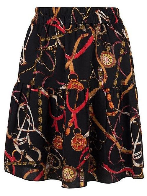 Esqualo / Skirt chain print