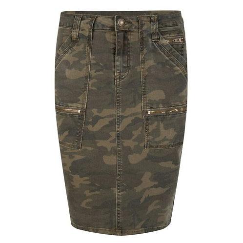 Esqualo Military Skirt