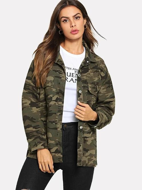 Esqualo / Jacket jeans military