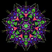 Mandala Busy Star