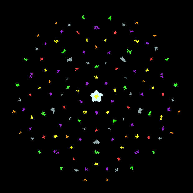 Social Distanced Mandala