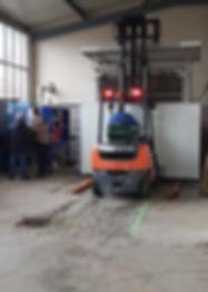 Station de traitement construite à Donzère (Société MSD) et agréée par FranceAgriMer, en service dans nos locaux  
