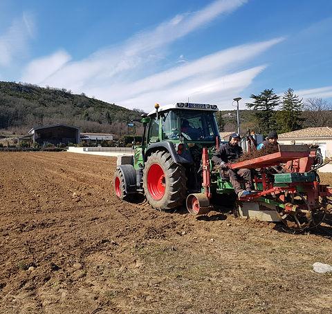 Plantation mécanique 2018