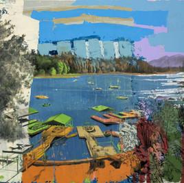 """ARROWHEAD Oil on Canvas 30"""" x 40"""""""