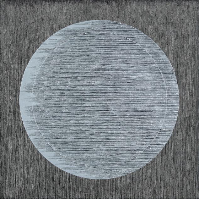 """LUNAR RAYS Oil on Canvas 48"""" x 48"""""""