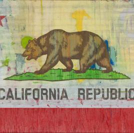 """CALIFORNIA REPUBLIC Oil on Canvas 48"""" x 72"""""""