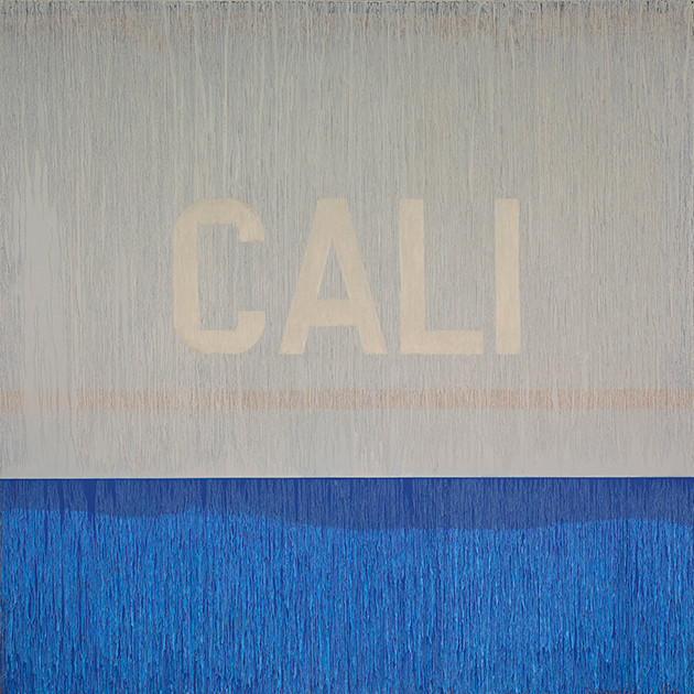 "CALI Oil on Canvas 48"" x 48"""
