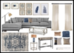 E-design living room Items