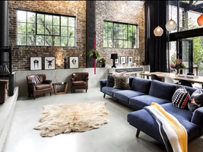 INDUSTRIAL INTERIOR DESIGN TIPS: INDUSTRIAL STYLE DÉCOR
