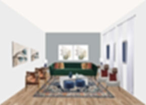 LIVING ROOM ECLECTIC STYLE HOME DECOR