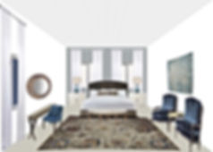 Design online, Interior comnection, bed room product