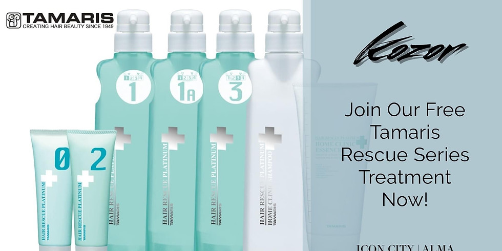 JOIN OUR FREE TAMARIS TREATMENT EVENT NOW !