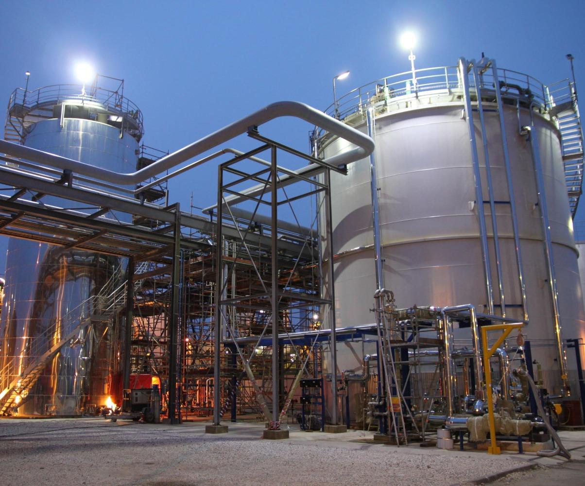 site-usine-pétrochimique