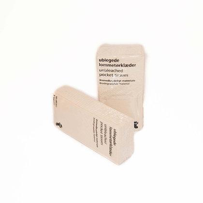 Chemical-free pocket tissues