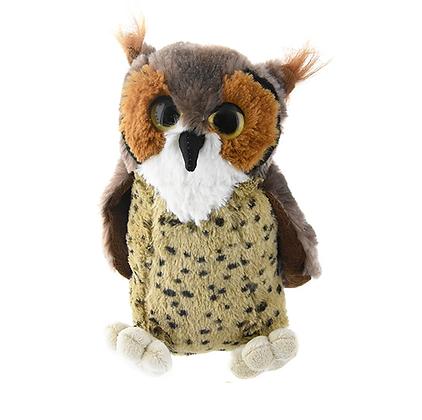 Owl bird soft toy