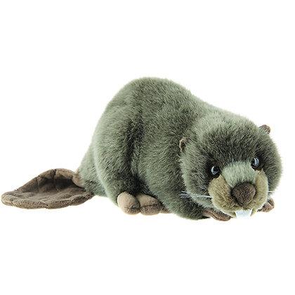 Stuffed beaver soft toy