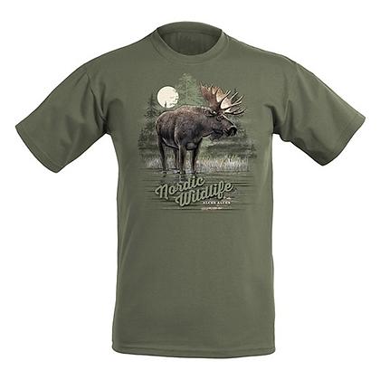 Moonshine moose T-shirt