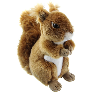 Baby squirrel soft toy
