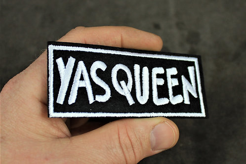 Yas Queen patch, iron on