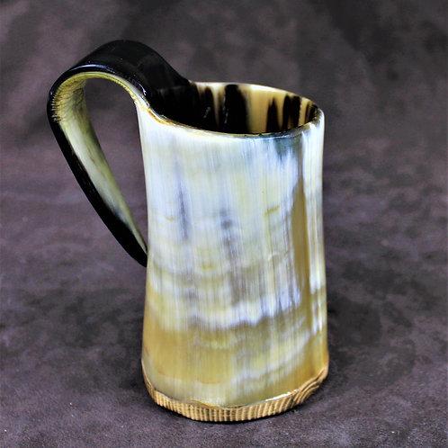 Small drinking horn mug