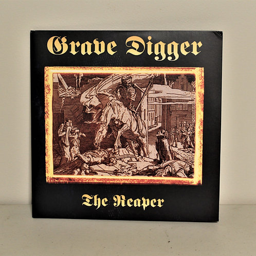 Grave Digger, the Reaper, LP, opened, great condition