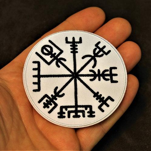 Vegvisir - runic compass - patch
