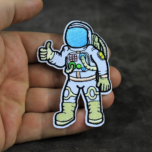Astronaut patch, thumbs up!
