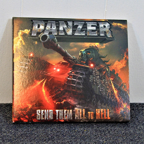 Panzer, Send them all to Hell CD, used, great shape