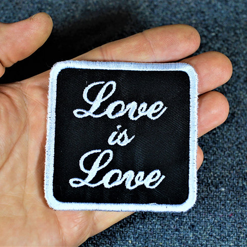 Love is love, cloth sew on patch