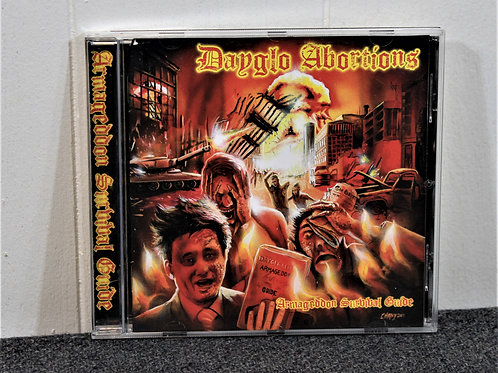 Dayglo Abortions, Armageddon survival guide CD, used