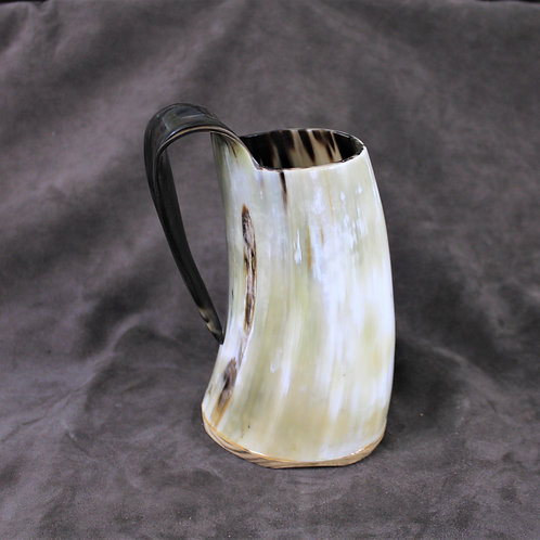 Drinking horn mug, regular size, very stout