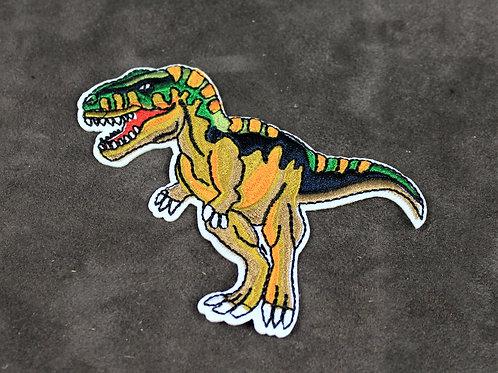 T-rex patch, iron on dino