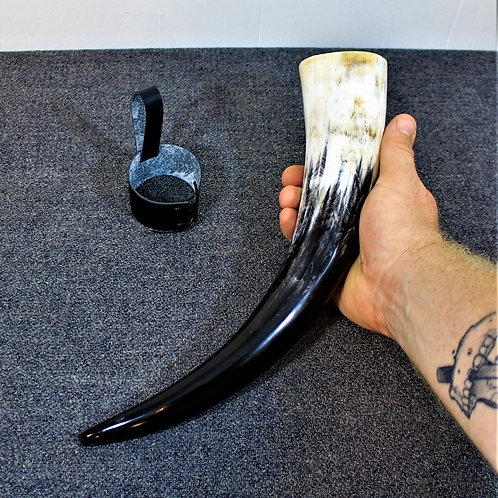 Drinking horn  - standard size, colorful