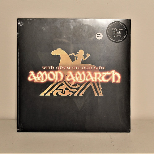Amon Amarth With Oden on our side LP, sealed