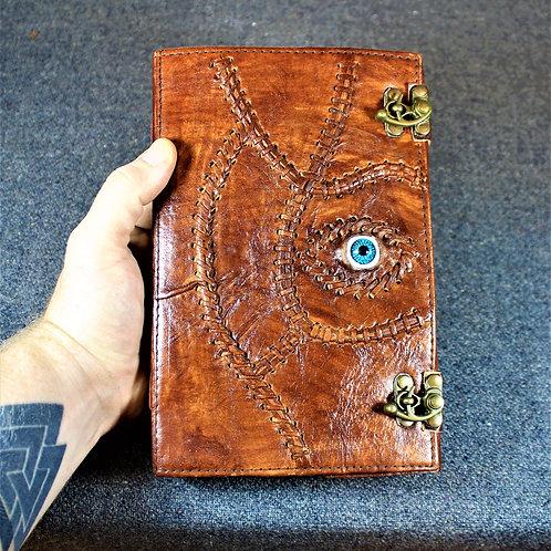 Grimoire, book of spells, evil eye journal