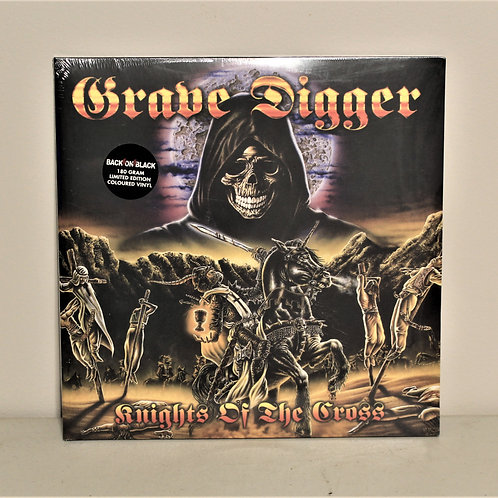Grave Digger, Knights of the Cross, LP, sealed