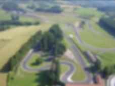 Vue aérienne du circuit du Mas Du Clos