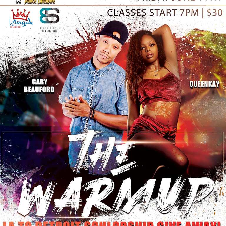 The Warmup W/ Gary Beauford & Queenkay