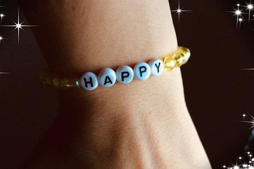 Happy Armband