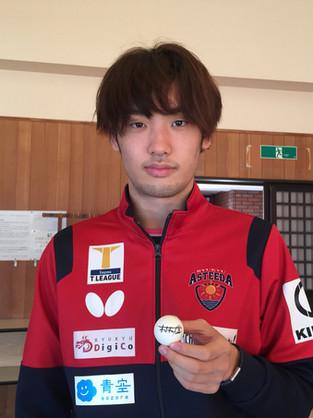 村松 雄斗選手使用 タオル+サイン入り練習球