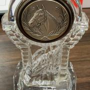 平成24年度優秀厩舎スタッフ賞関西4位トロフィー